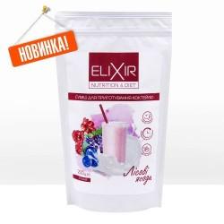 Диетический коктейль ELIXIR NUTRITION & DIET» с лесными ягодами 200 г