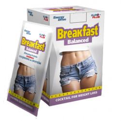 Сбалансированный завтрак коктейль для похудения 10 шт